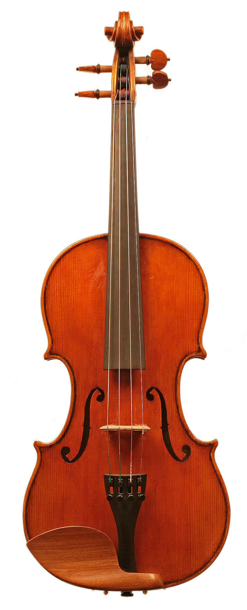Modern workshop violin